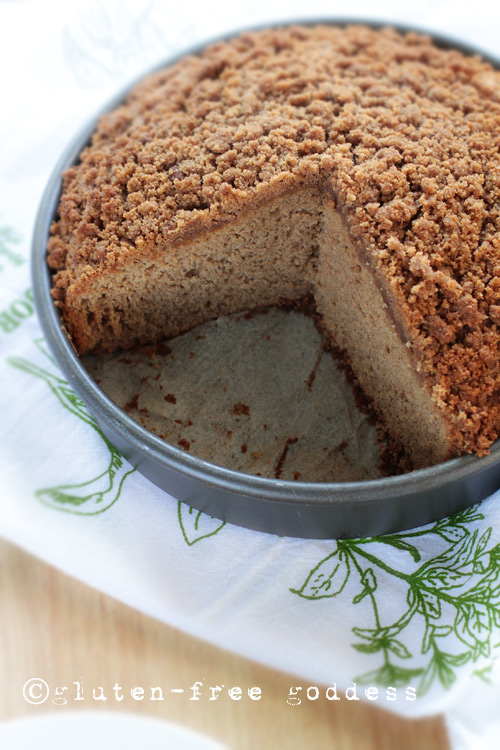 Gluten-Free Goddess Applesauce Cake.  #glutenfree #cake