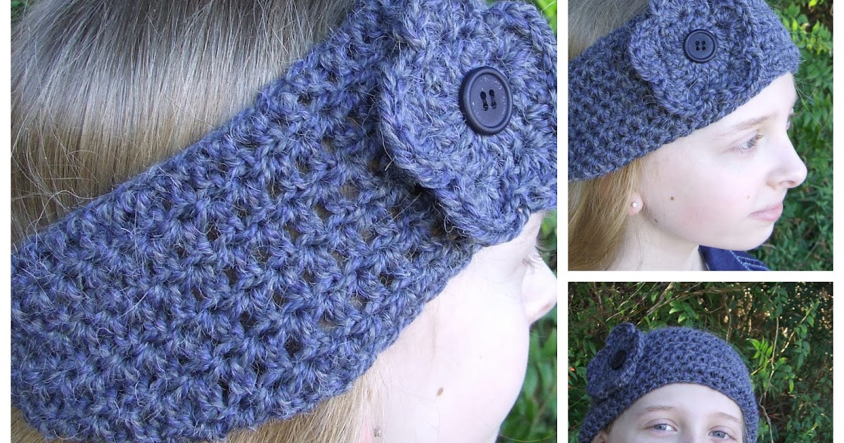 FitzBirch Crafts: Chunky Crochet Headband