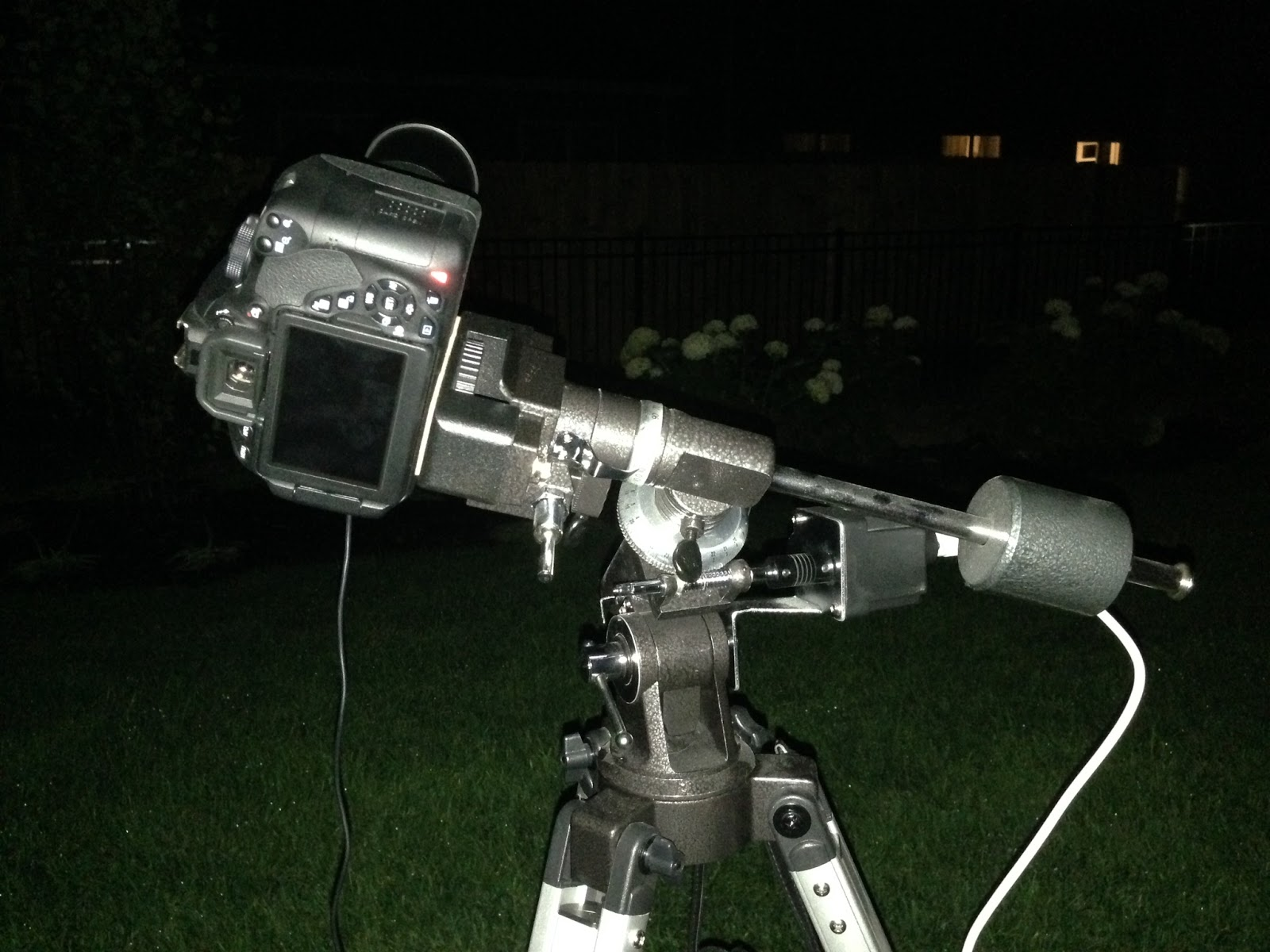 Canon T5i on Orion EQ-1M