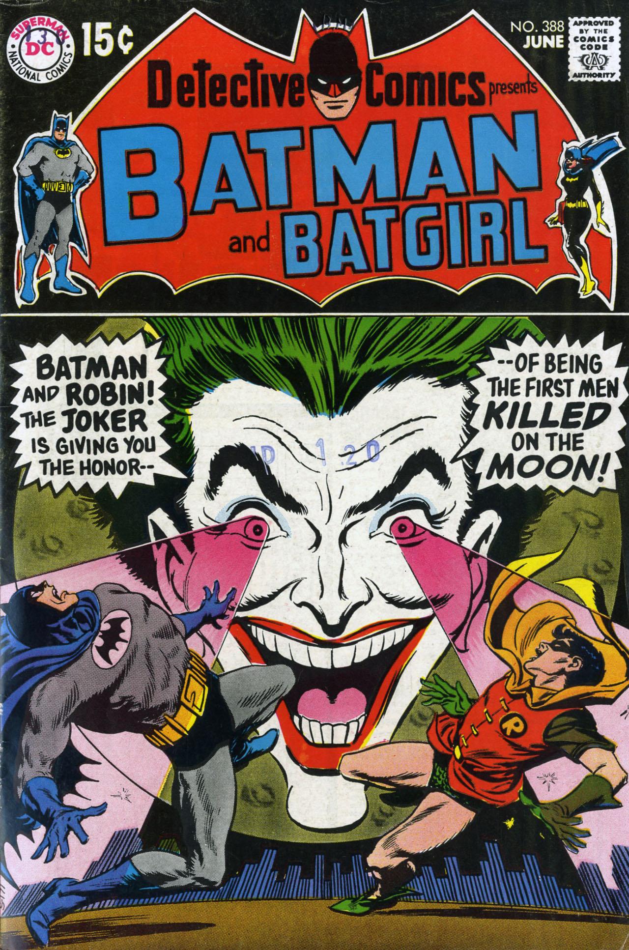 Detective Comics (1937) 388 Page 1