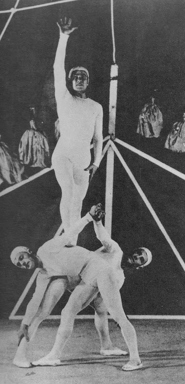 TCHELITCHEV, Pavel. Figurinos para Ode (1928).