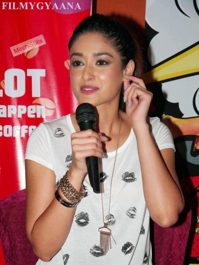 Ileana Latest Hot Photo In White Transparent Top
