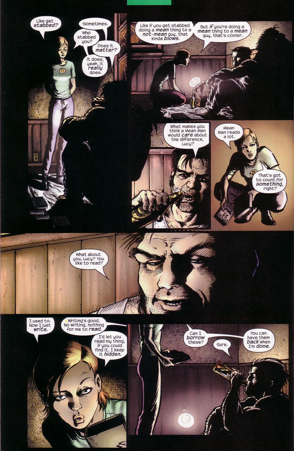 Read online Wolverine (2003) comic -  Issue #1 - 17