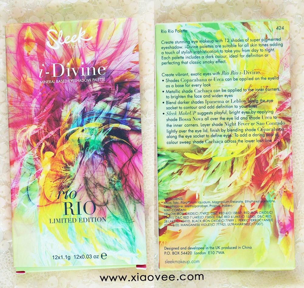 Sleek i-Divine Rio Rio review