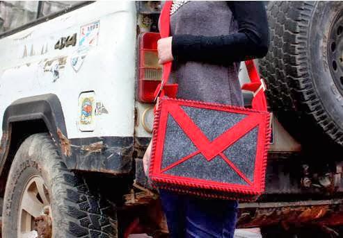 GMail DIY Messenger Bag