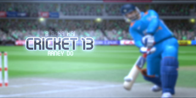 free  cricket game 2013 for pc full version