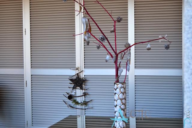 decoración navideña exterior