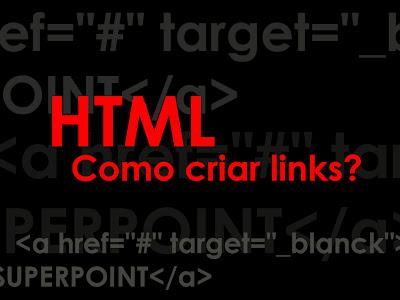 html como criar links?