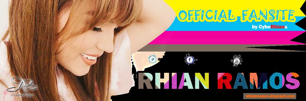 Rhian Ramos Official Fan Site