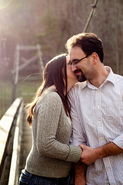 engagement portrait at elizabeth furnace