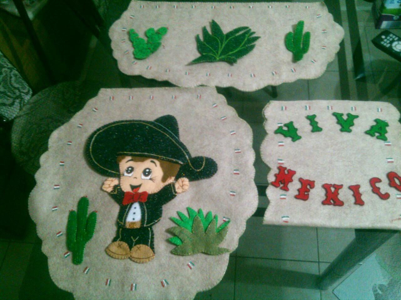 diseo encantandor para decorar en fiestas patrias