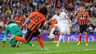 real madrid vs shaktar donetsk
