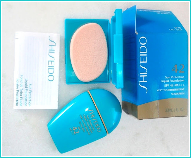 Sun Protection Liquid Foundation da Shiseido
