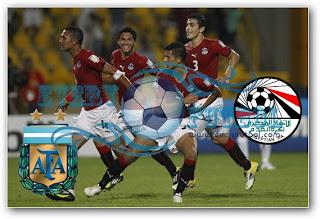 Resultado Partido Argentina Vs Egipto