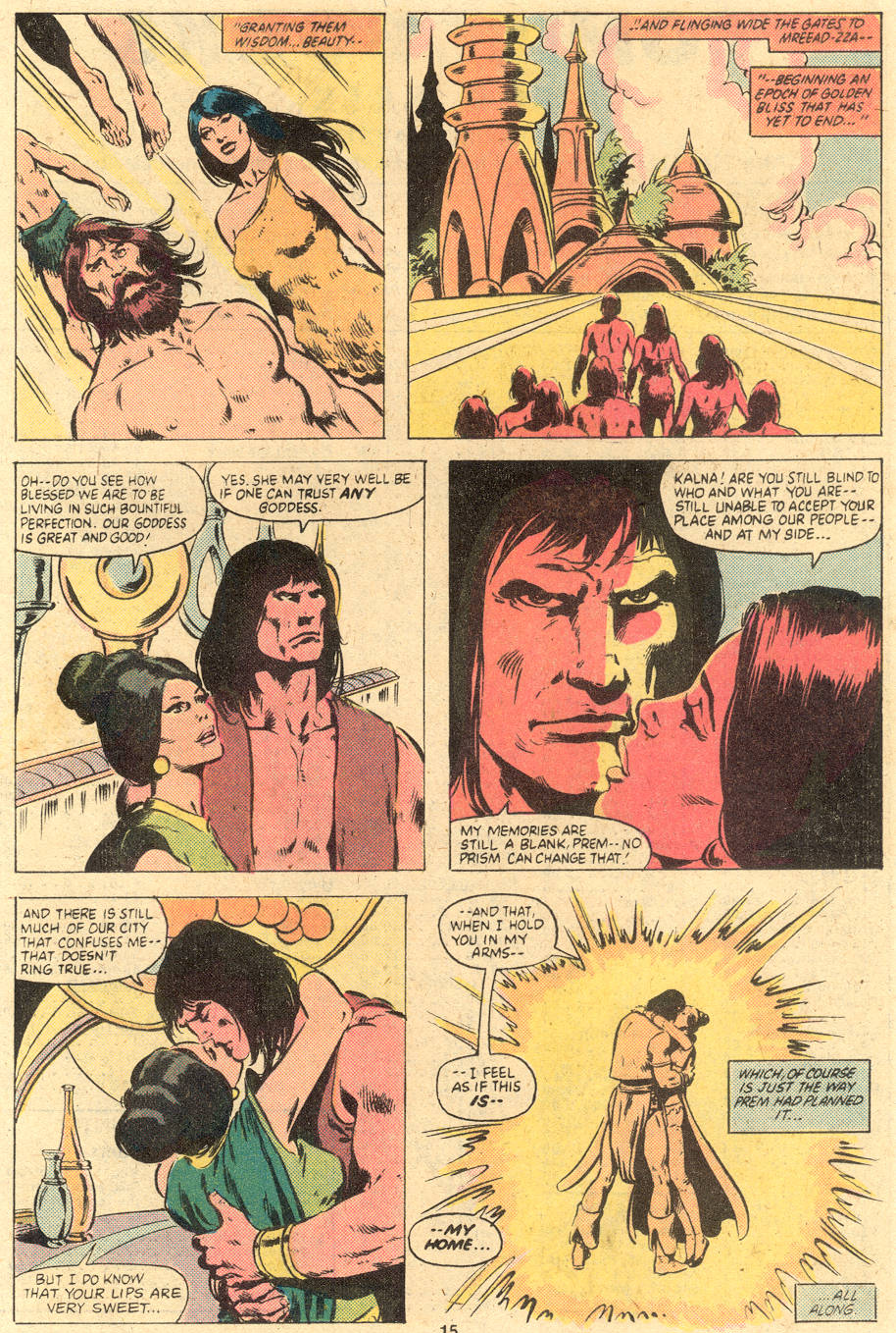 Conan the Barbarian (1970) Issue #121 #133 - English 14