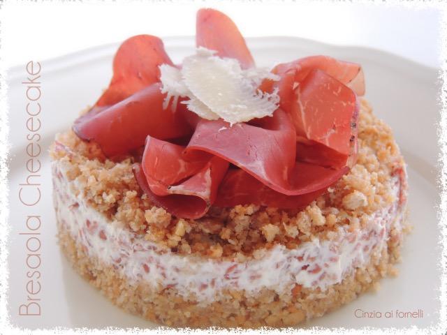 cheesecake con bresaola