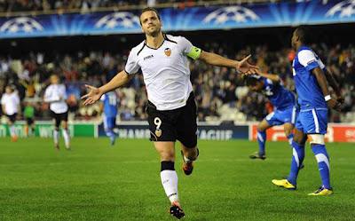 Valencia 7 - 0 Racing Genk (2)
