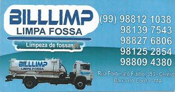 BILLLIMP LIMPA FOSSA