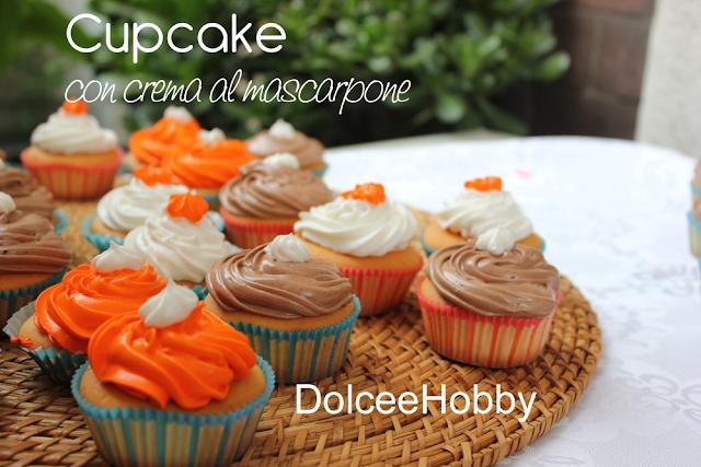 cupcake con crema al mascarpone