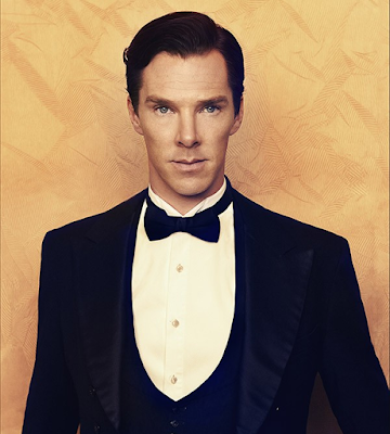 Benedict Cumberbatch dressed like a penguin