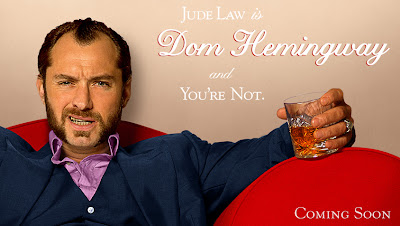 Jude Law is Dom Hemingway and you're not Banner Poster