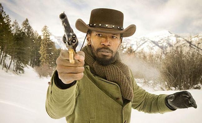 Jamie Foxx ako Django Unchained