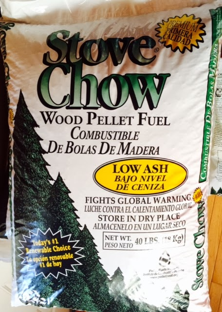 Wood pellet review stove chow