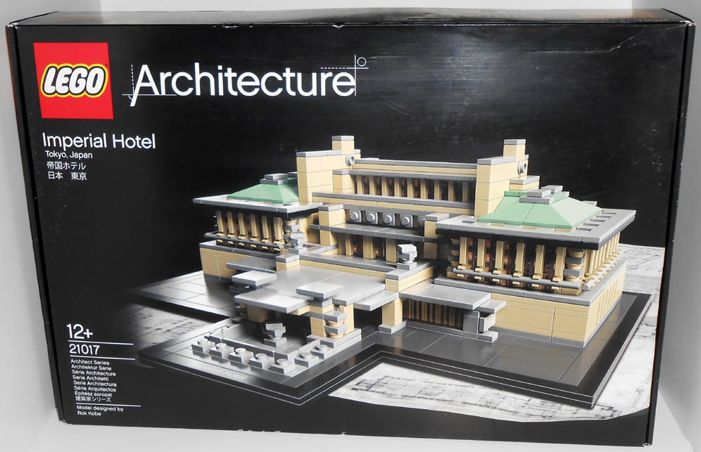 oz brick nation: lego architecture 21017: imperial hotel review.