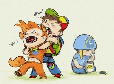 glue eating internet explorer
