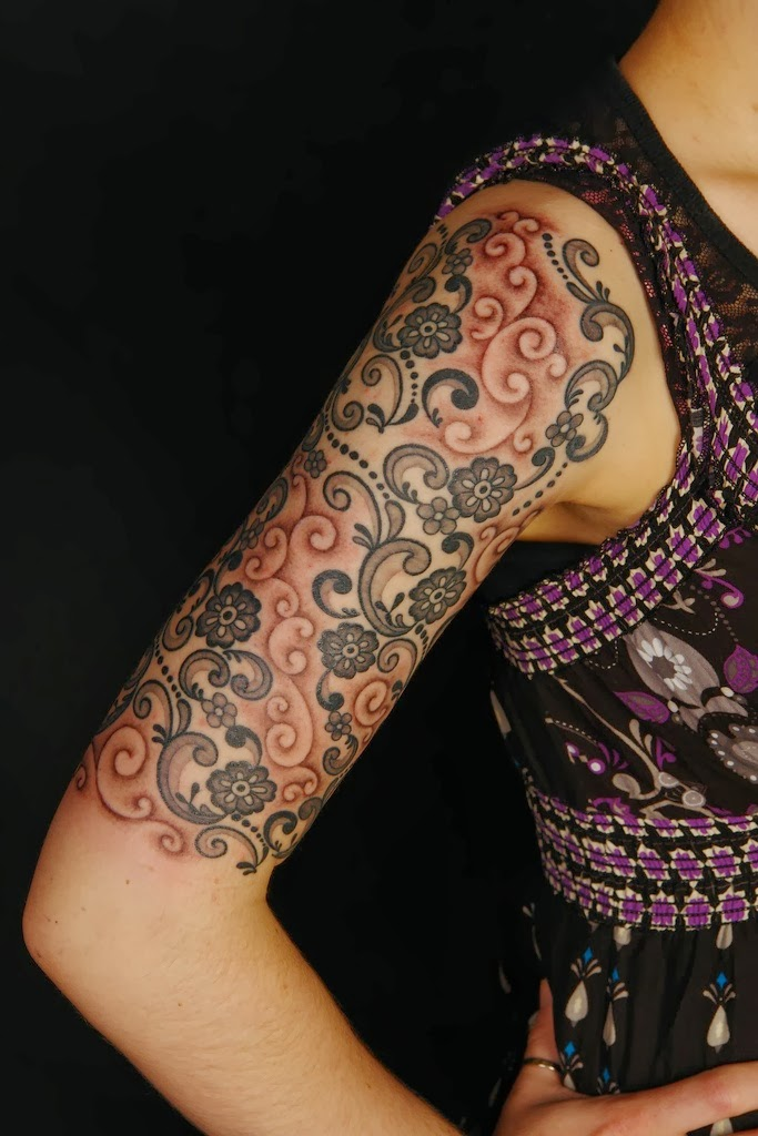 Lace tattoo best tattoos