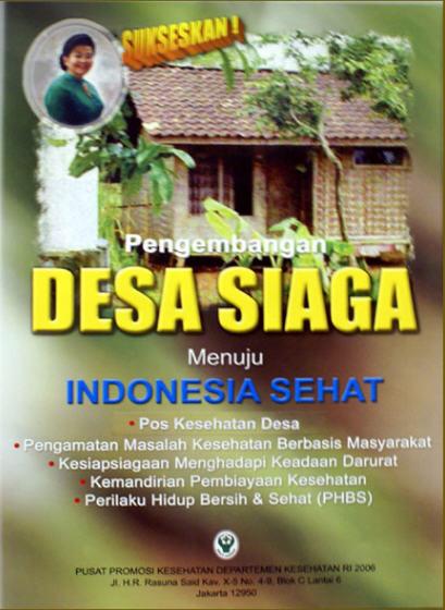 Artikel Kesehatan Pedoman Pelaksanaan Pengembangan Desa Siaga