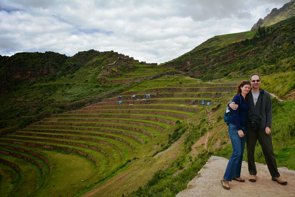 Sacred Valley views terraces