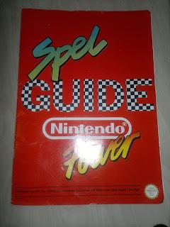 Framsidan: Spelguide Nintendo Power