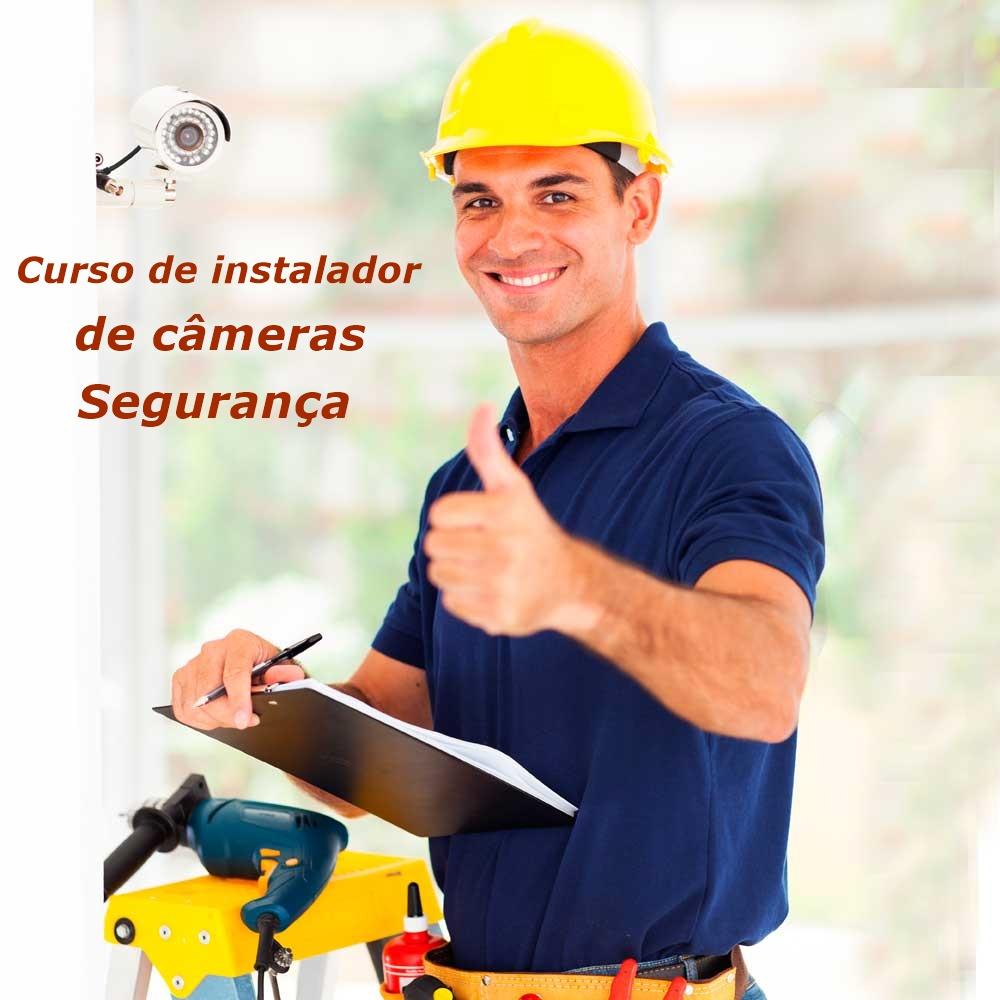 Curso instalador de Câmera segurança