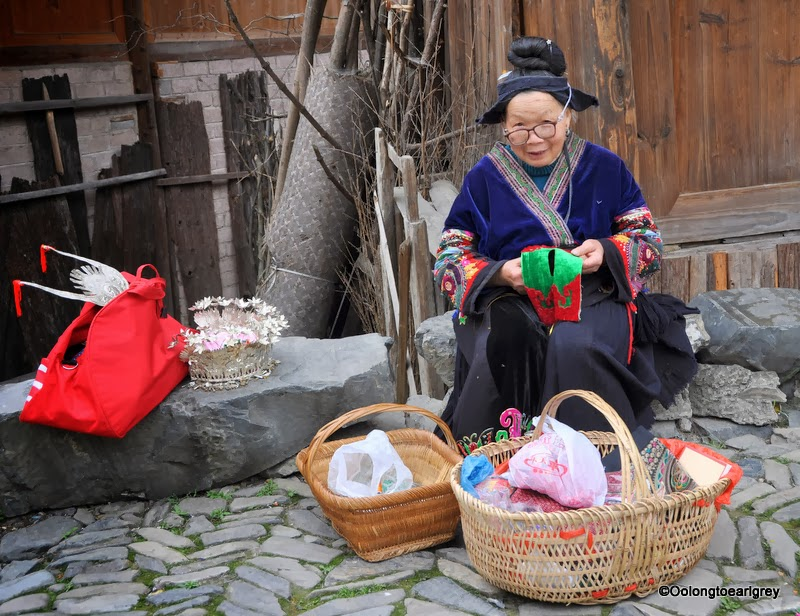 Miao Woman, Guizhou, China