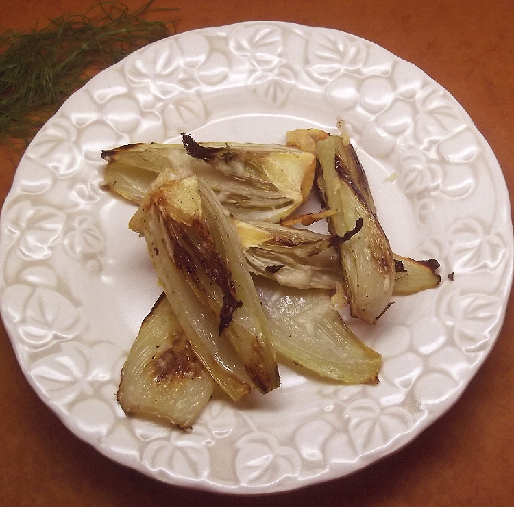 Roasted Fennel with Asiago and Thyme from Fine Cooking Magazine ...
