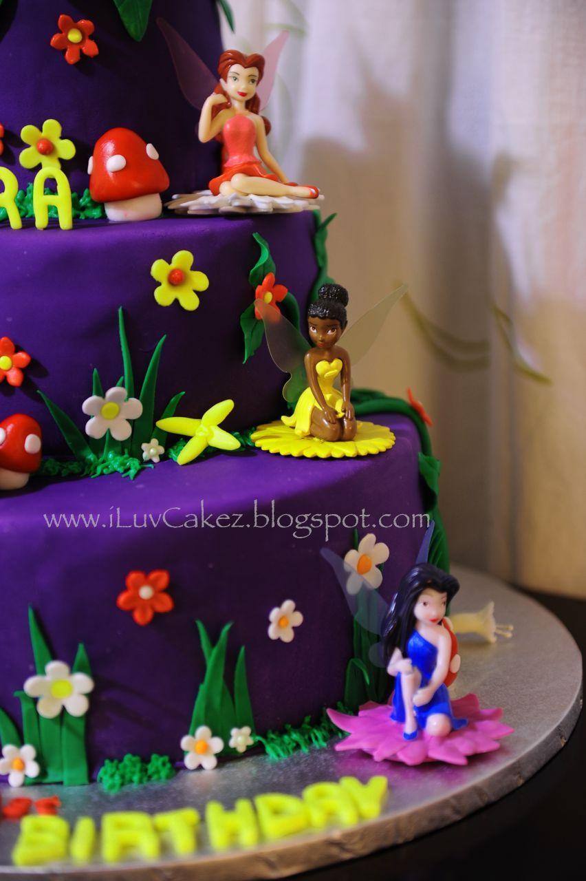 Iluv Cakez Tinkerbell Cake Tyras 1st Birthday Cake