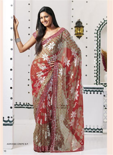Latest Designer saree Trends