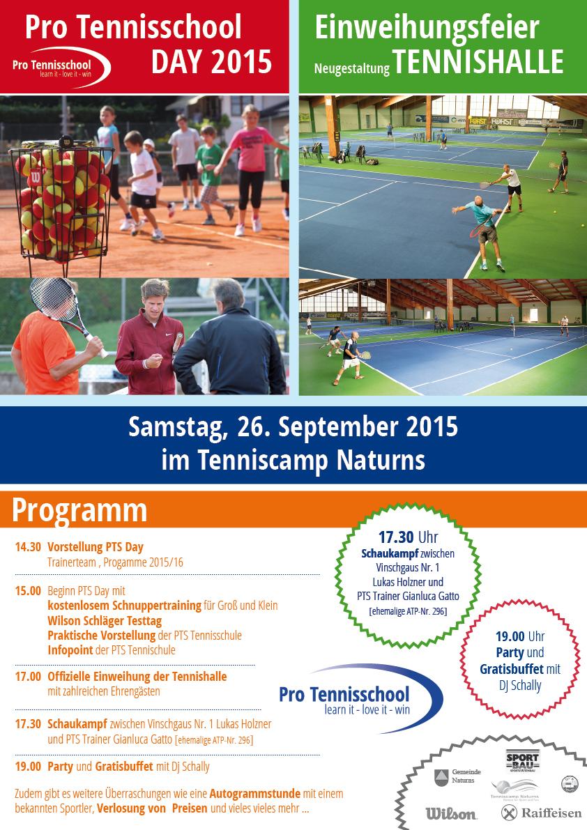 PTS Day 2015 - Eröffnung Tennishalle