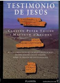 TESTIMONIO DE JESÚS - CARSTEN PETER THIEDE