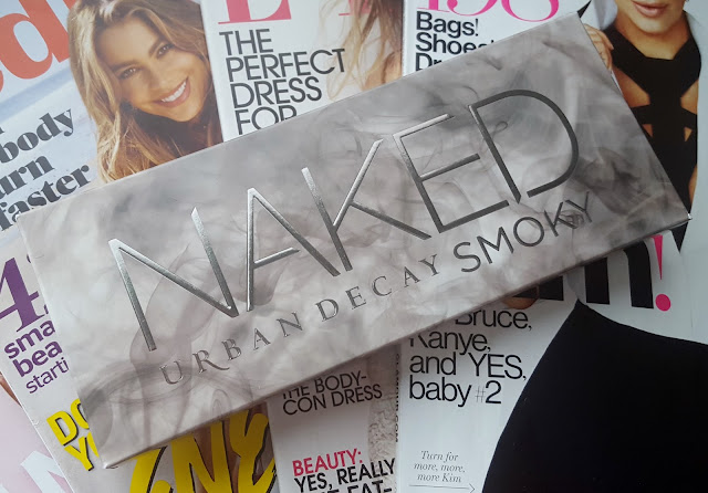 Urban Decay's Naked Smoky Palette First Impression