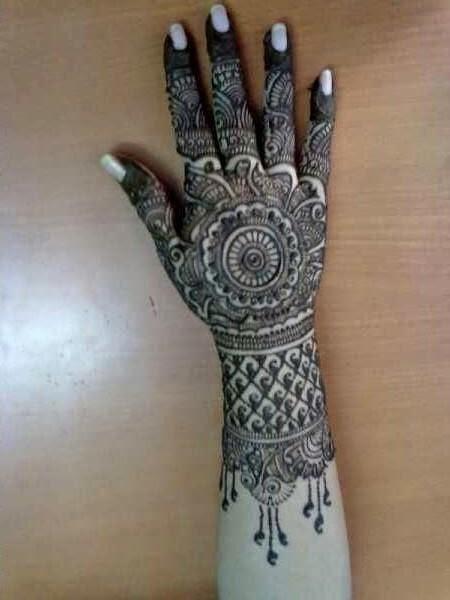 elegant eid mehndi designs vol 7   beauty makeup tips