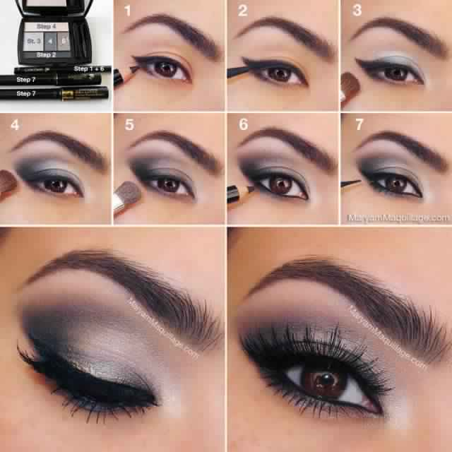We are going to share with you 13 stylish smoky eye makeup tutorials for your next party and night out.