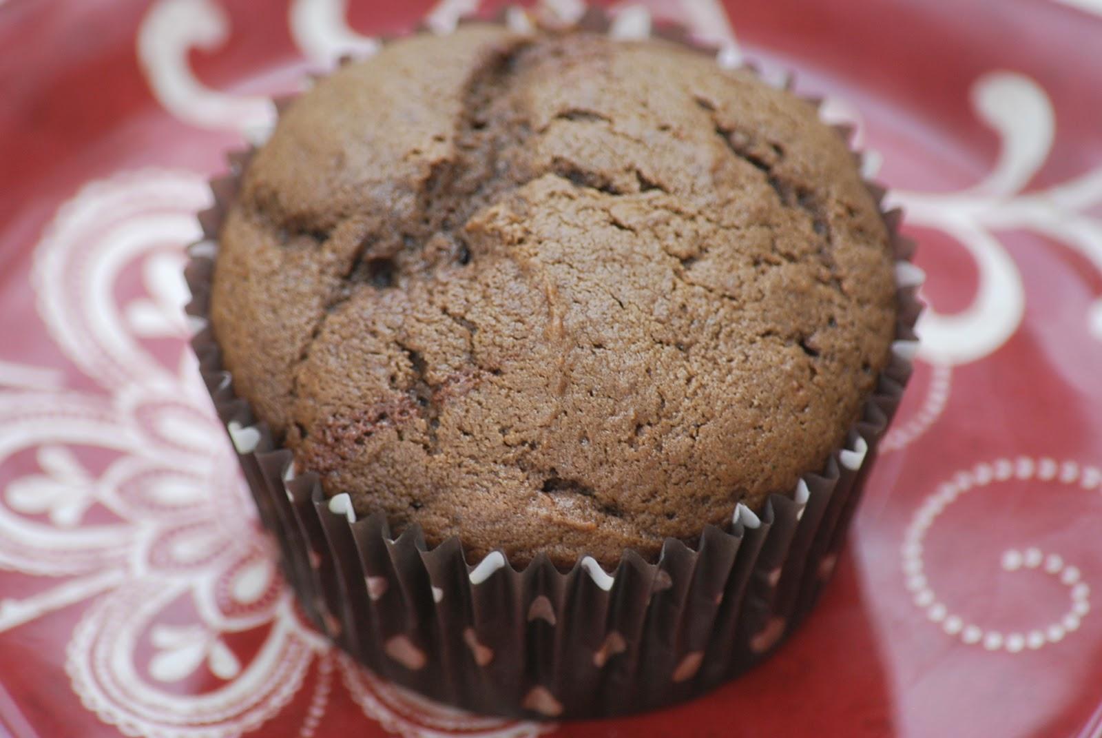 My story in recipes: Dark Chocolate Cherry Muffins