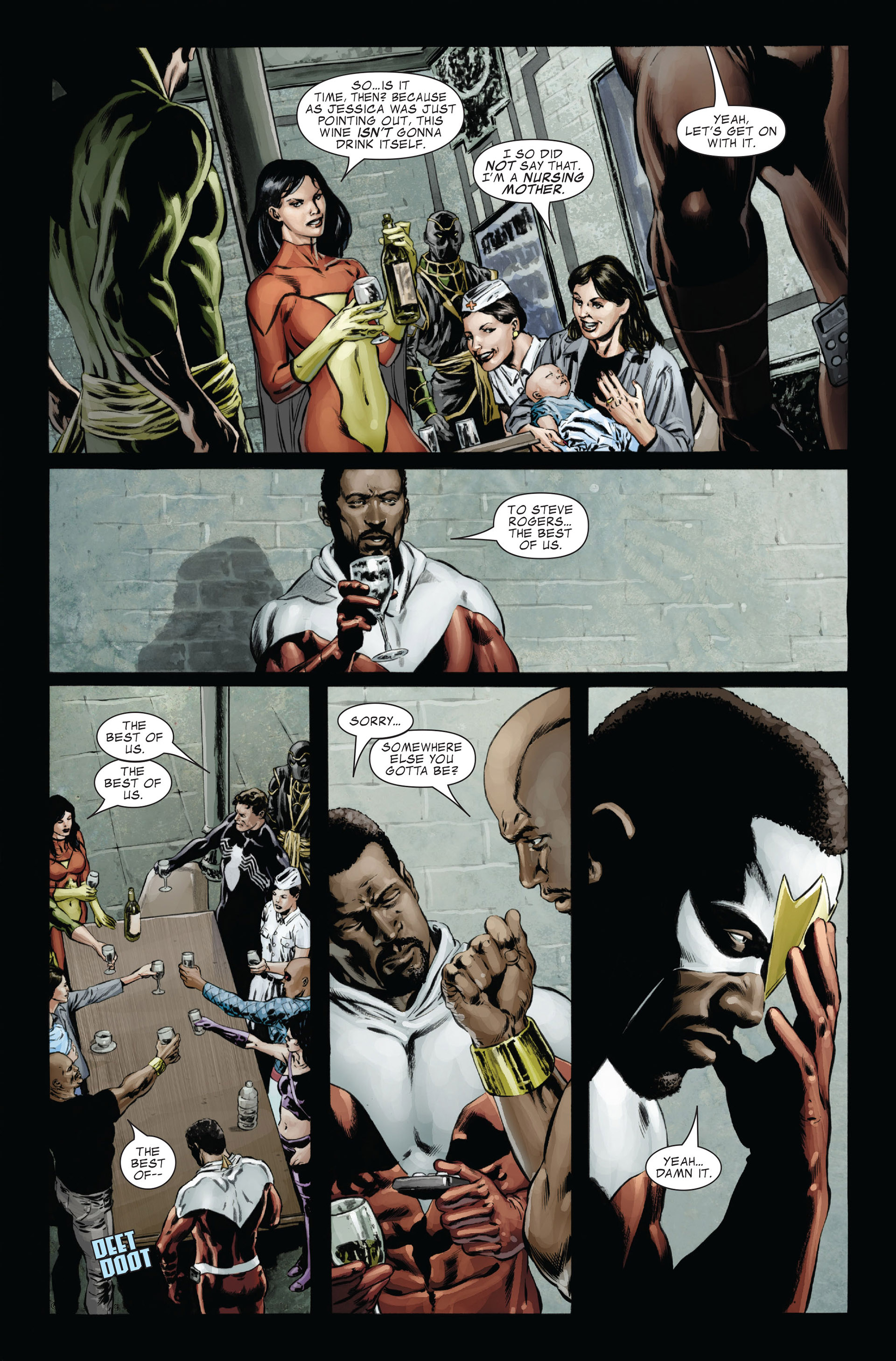 Captain America (2005) Issue #26 #26 - English 18