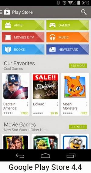Android 4.4 Versi sekarang
