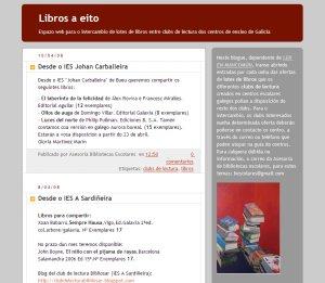 LIBROS A EITO (Intercambio de lotes de libros entre clubs de lectura)