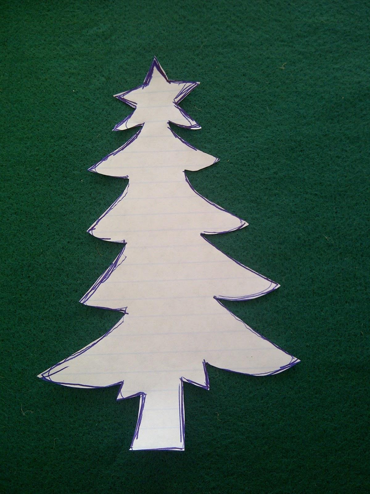 Kurdele ile Çam Ağacı Yapımı