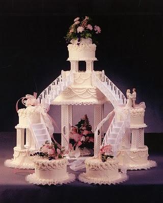 pasteles de boda fantasiajpg Pasteles de boda clásicos