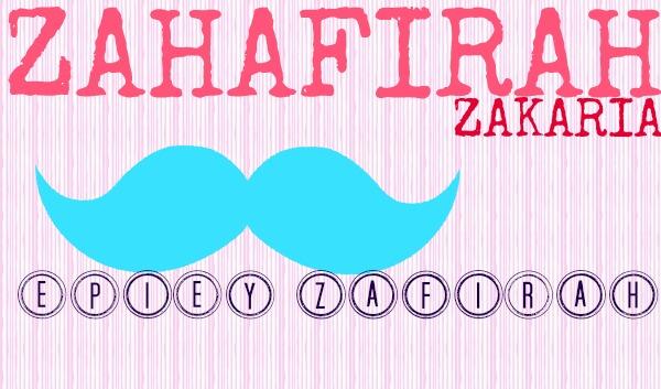 ZAHAFIRAH